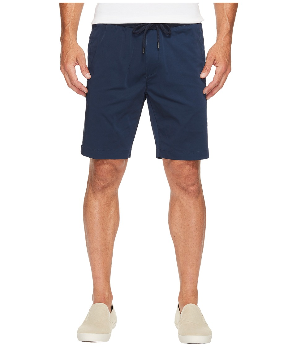 Calvin Klein Tech Nylon Rib Waist Shorts (Cadet Navy) Men