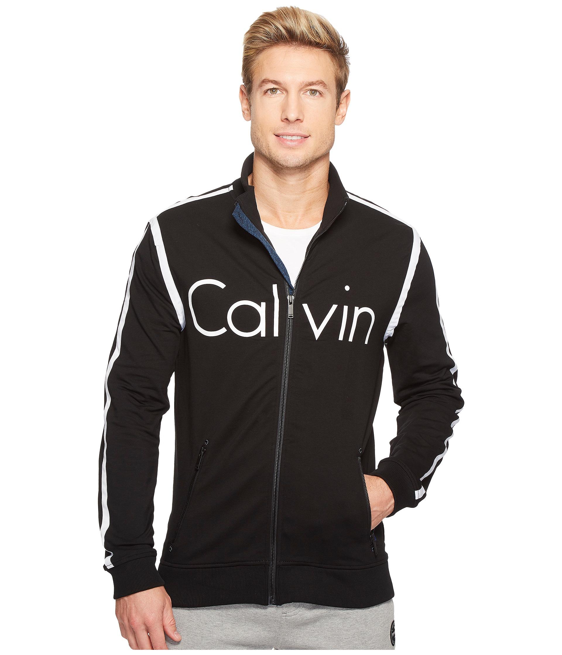 calvin klein jeans rebel sport calvin track jacket at. Black Bedroom Furniture Sets. Home Design Ideas
