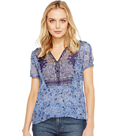 Lucky Brand - Scarf Print Top