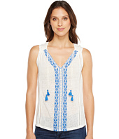 Lucky Brand - Embroidered Center Front Top