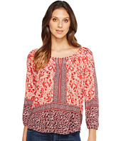 Lucky Brand - Placed Peasant Top