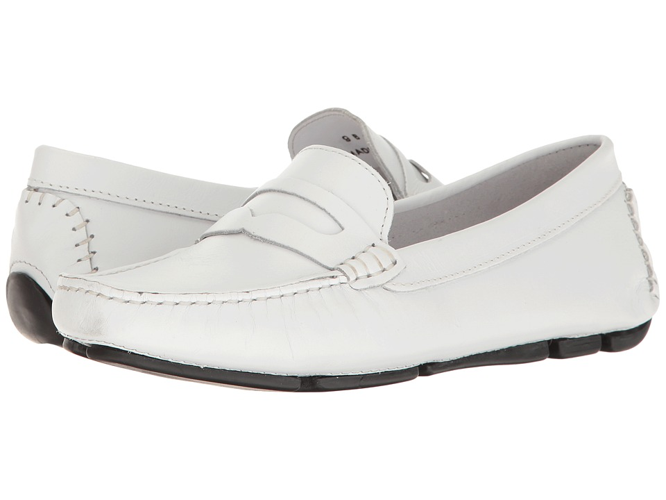 Massimo Matteo Penny Keeper (White Bison) Women's Moccasins