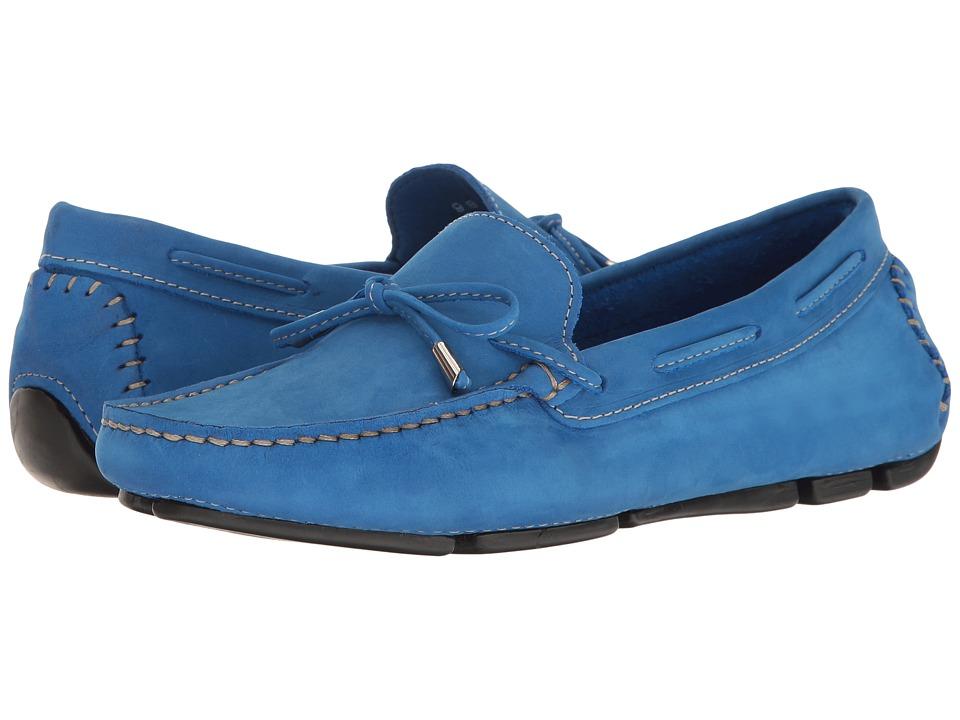 Massimo Matteo Tie Driver (Bic Nubuck) Slip-On Shoes