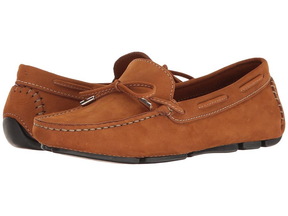 Massimo Matteo Tie Driver (Castor Nubuck) Slip-On Shoes