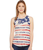 Lucky Brand - Flag Print Tank Top