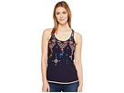 Embroidered Tank Top