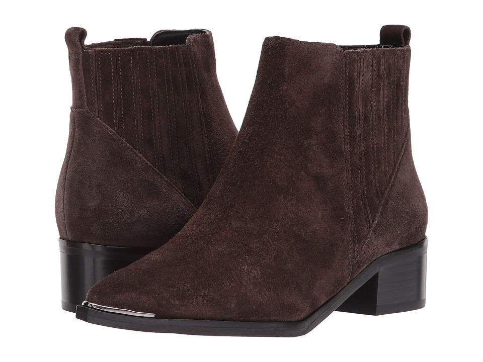 Marc Fisher LTD Yommi (Chocolate Brown Suede) Women