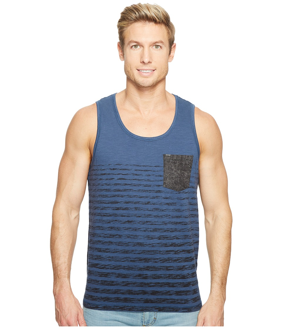 Calvin Klein Jeans Denim Pocket Stripe T-Shirt (Insignia Blue) Men
