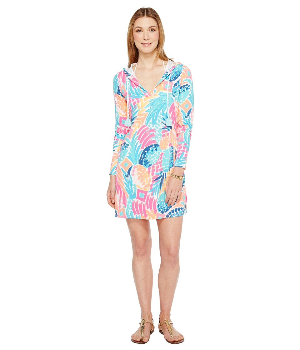 Lilly Pulitzer UPF 50+ Rylie Cover-Up Dress (Multi Goomba...