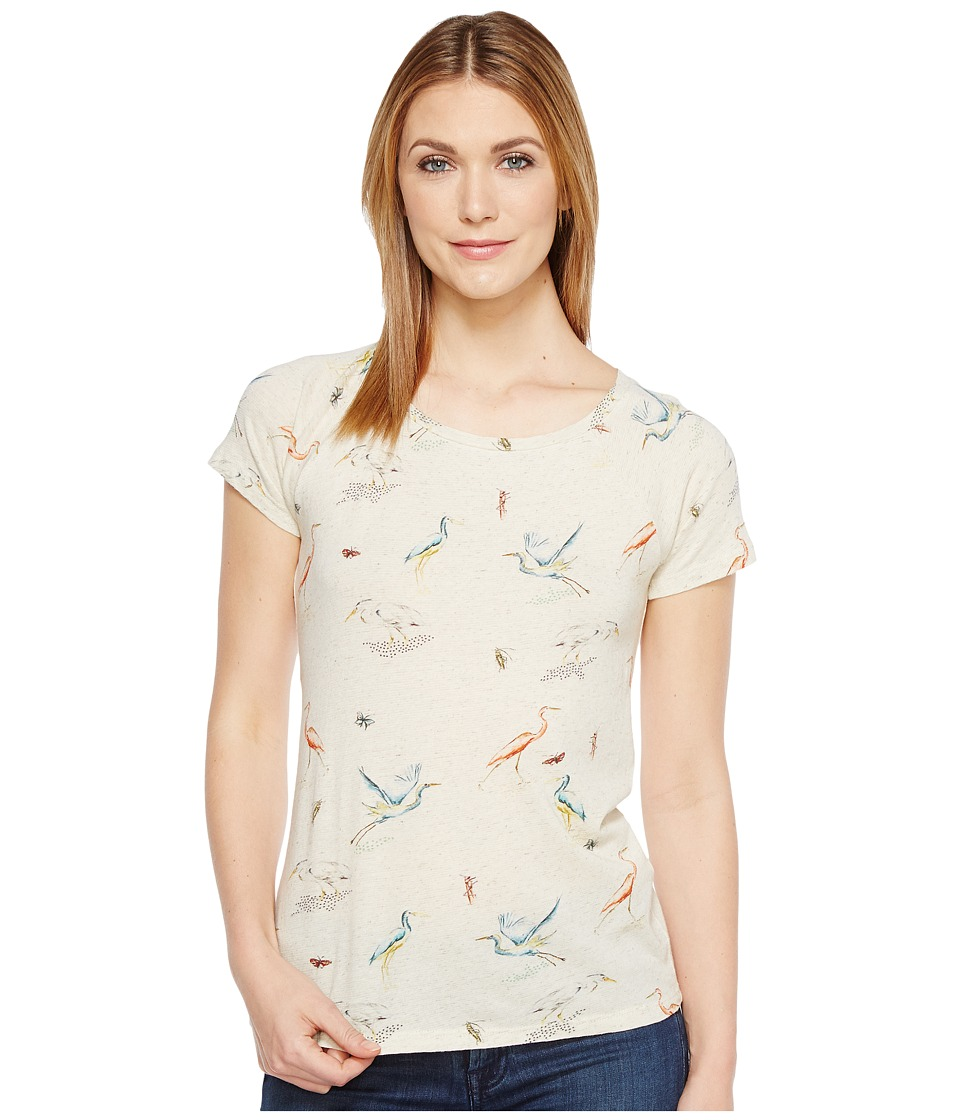 Lucky Brand Flamingo Tee (Natural Multi) Women