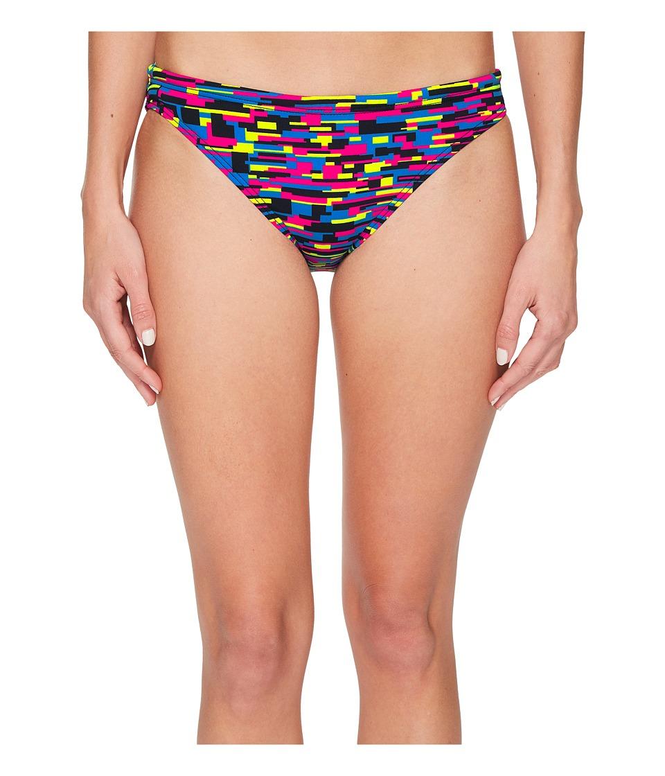 TYR Drift Classic Bikini Bottom (Blue/Pink)