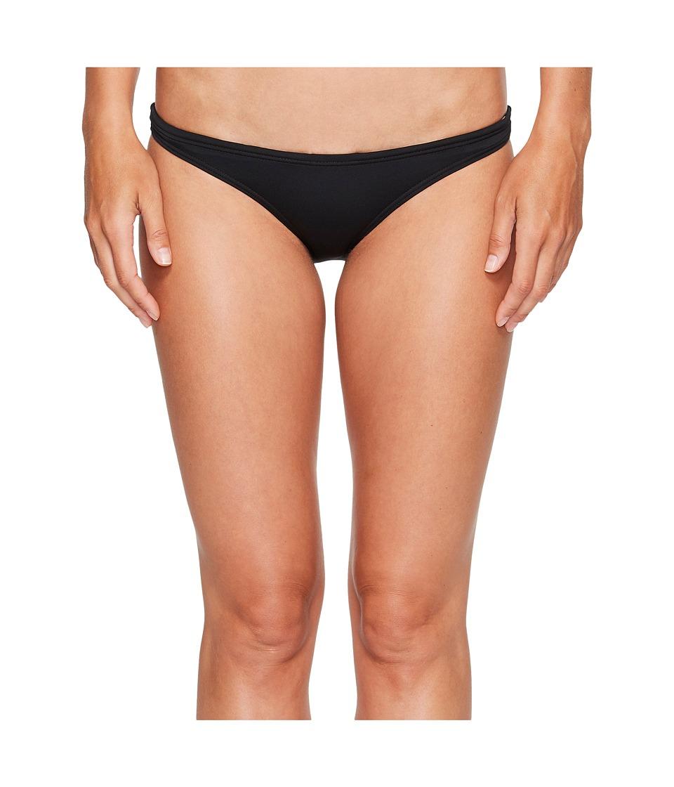 Tyr Solid Micro Bikini Bottom (Black) Women's Swimwear