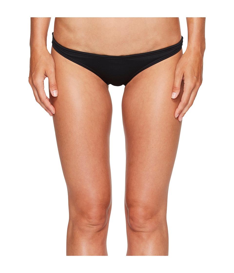 TYR Solid Mini Bikini Bottom (Black)