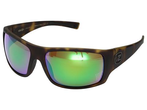 VonZipper Suplex Polarized - Tortoise Satin/Wild Green Chrome Polar Plus