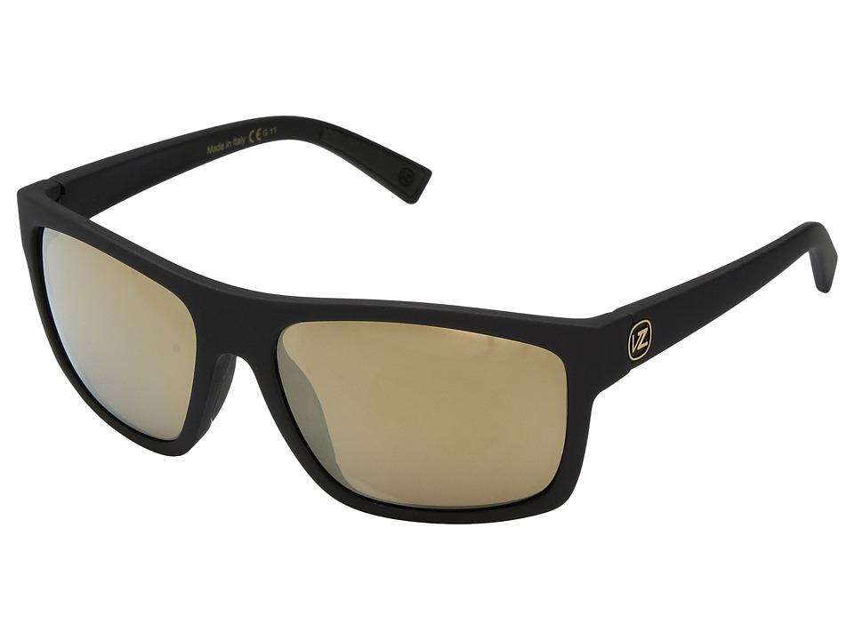 VonZipper Speedtuck (Black Gloss/Gold Glod) Sport Sunglasses