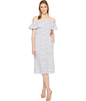 Lucky Brand - Off Shoulder Midi Dress