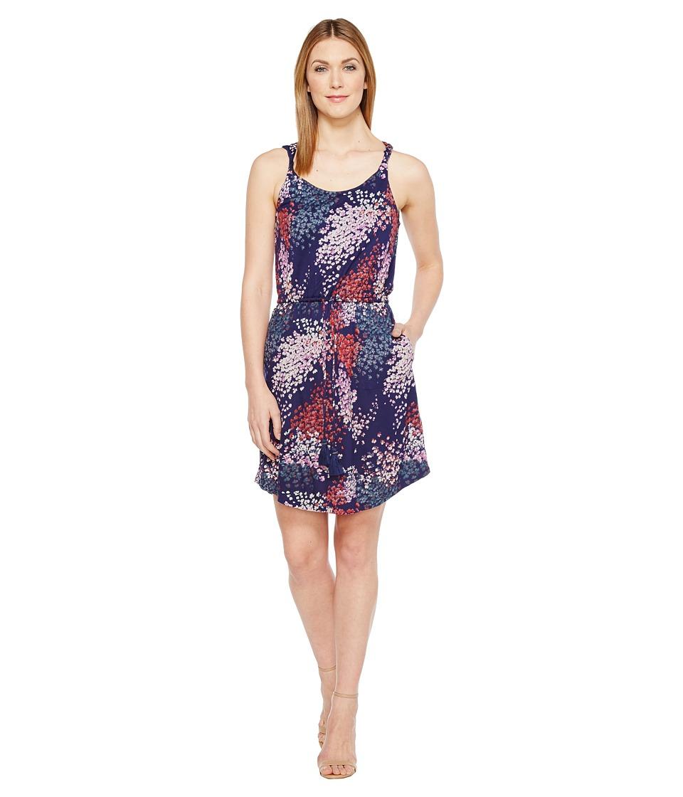 Lucky Brand Nora Dress (Navy Multi) Women