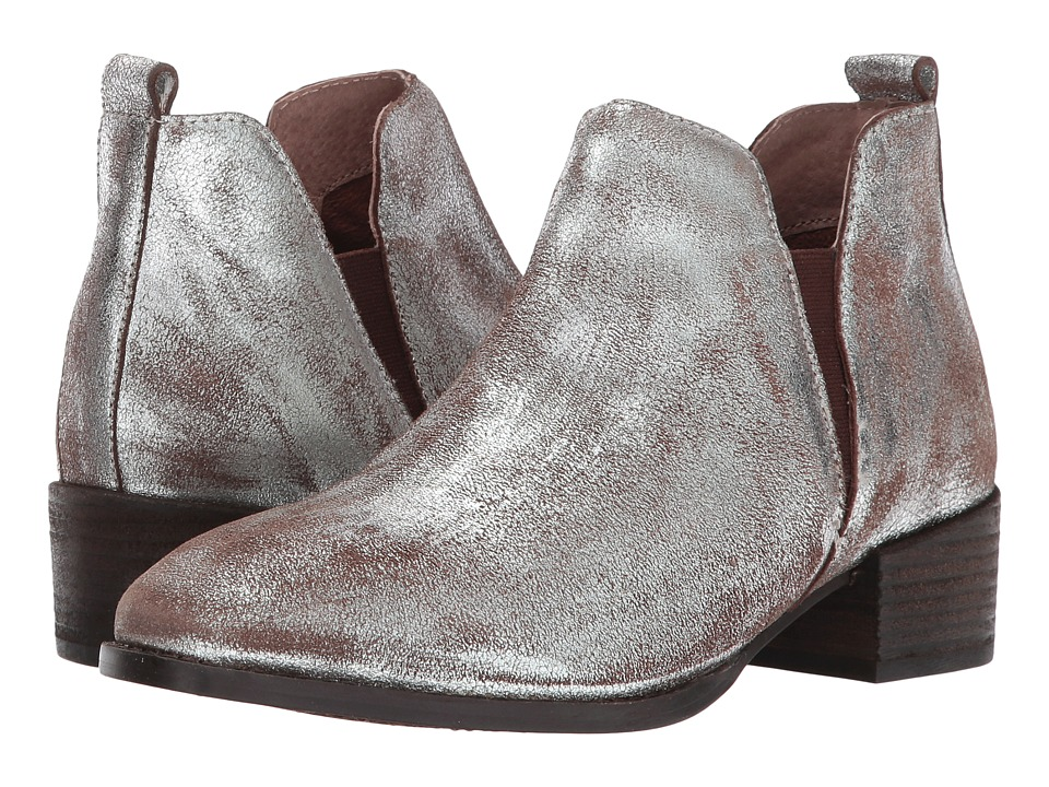 Seychelles Offstage (Pewter Metallic Suede) Women