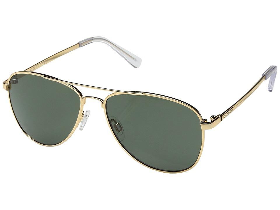 VonZipper Statey (Gold Gloss/Vintage Grey) Sport Sunglasses