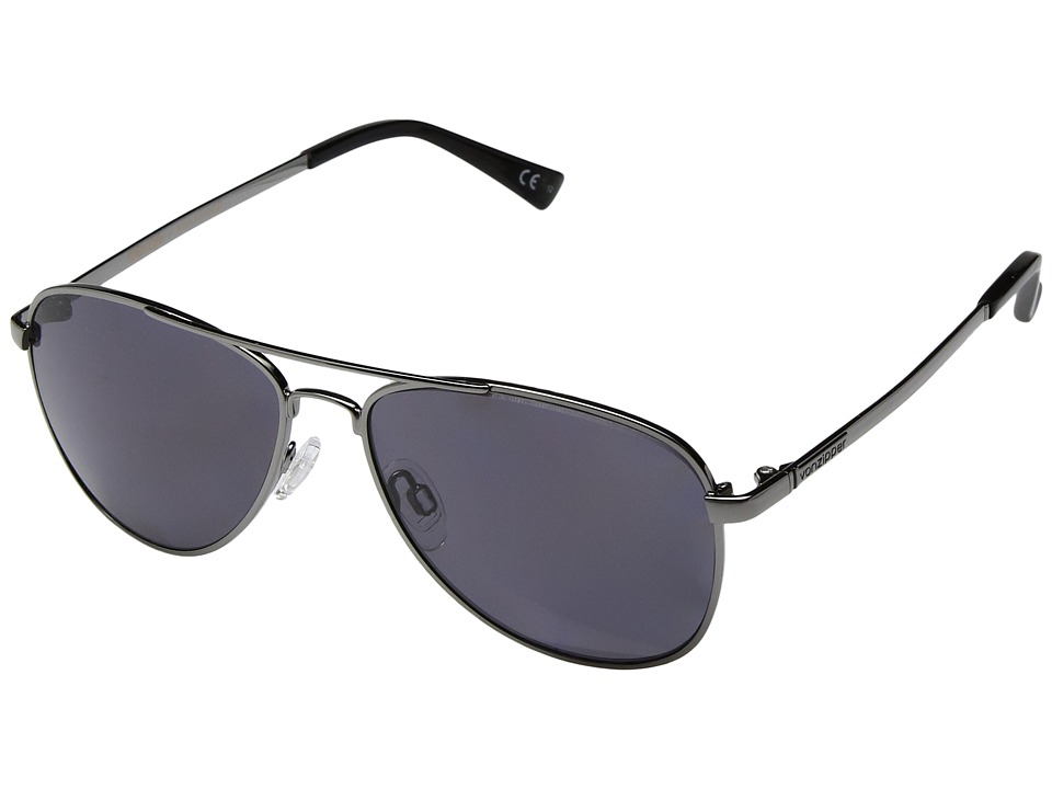 VonZipper Statey Polar (Charcoal Gloss/Wild Vintage Grey Polar) Sport Sunglasses