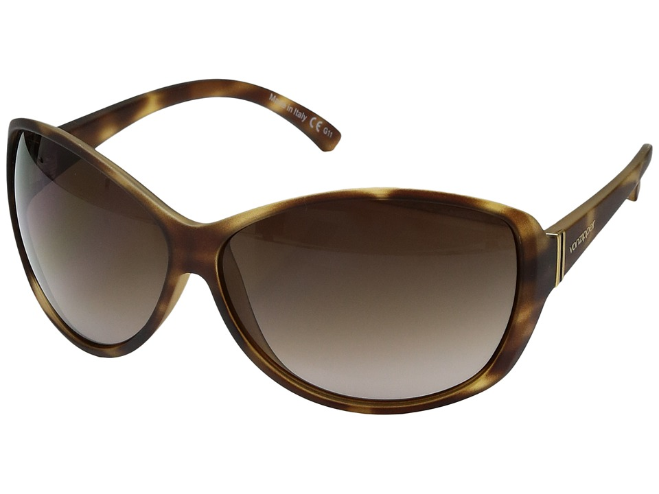 VonZipper Vacay (Tortoise Satin/Brown Gradient) Sport Sunglasses