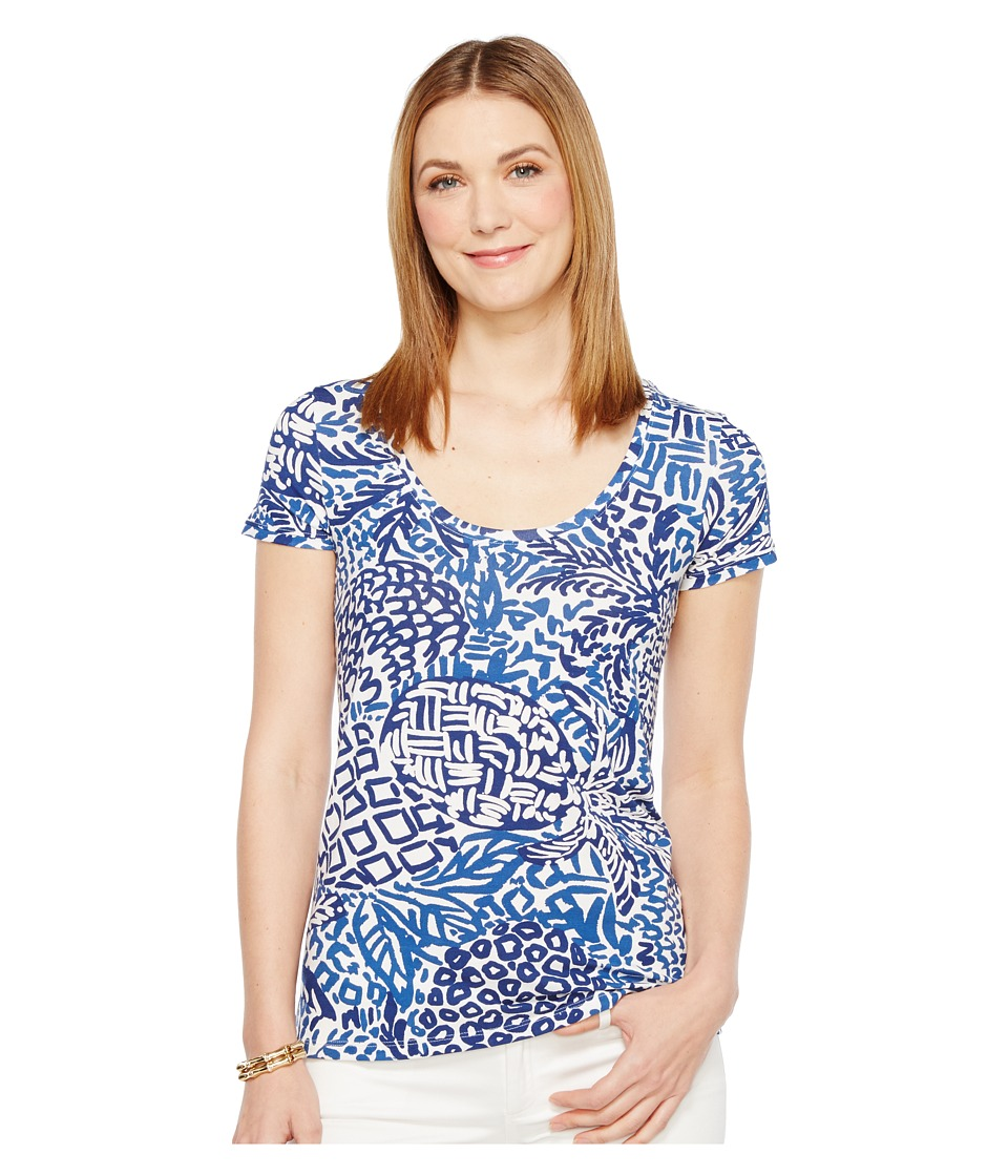 Lilly Pulitzer Dori Tee (Indigo Home Slice) Women