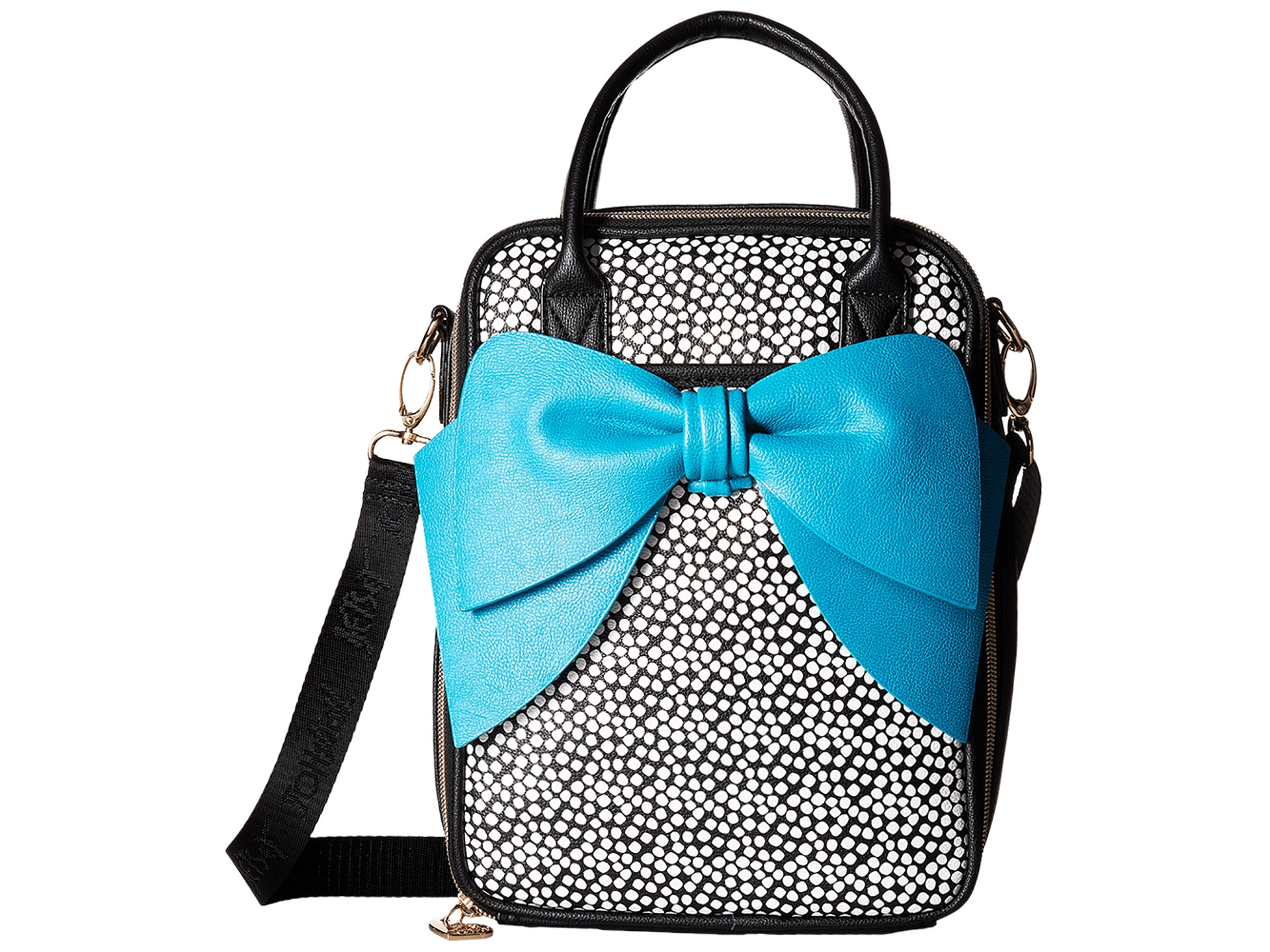 Betsey Johnson Bow Chow Bella Lunch Tote At Zappos Com