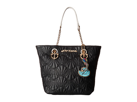 Betsey Johnson Shell Yeah Tote - Black