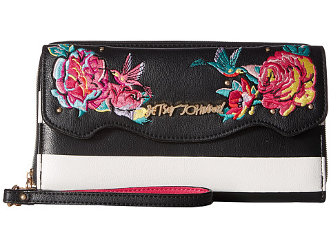 Betsey Johnson Belle Rose Large Wallet