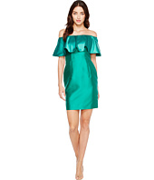 Adrianna Papell - Fabric Combo Flounce Dress