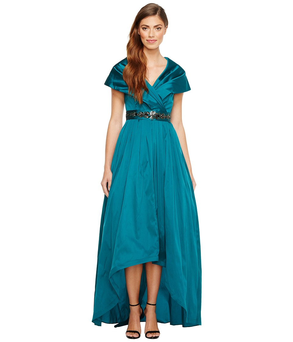 Adrianna Papell Adrianna Papell - Silky Taffeta Shawl Gown