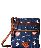 Dooney & Bourke - MLB North/South Triple Zip Crossbody Bag