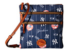 Dooney & Bourke MLB North/South Triple Zip Crossbody Bag
