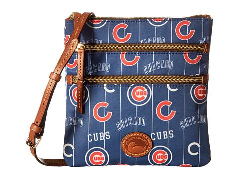 Dooney & Bourke MLB North/South Triple Zip Crossbody Bag - Cubs