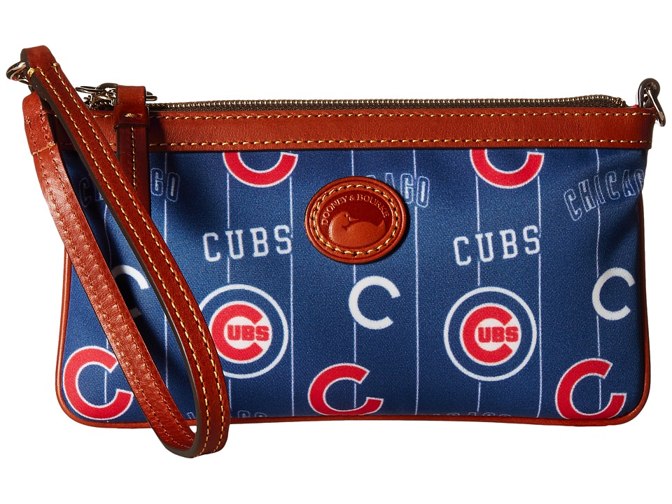 Dooney & Bourke - MLB Large Slim Wristlet (Cubs) Shoulder Handbags