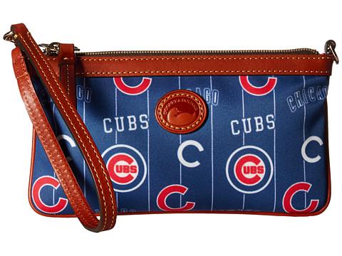 Dooney & Bourke MLB Large Slim Wristlet - Cubs