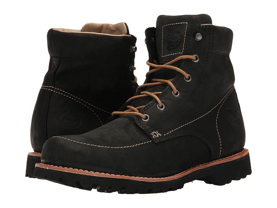 Georgia Boot - Small Batch 6 Moc Toe (Black) Mens Work Boots