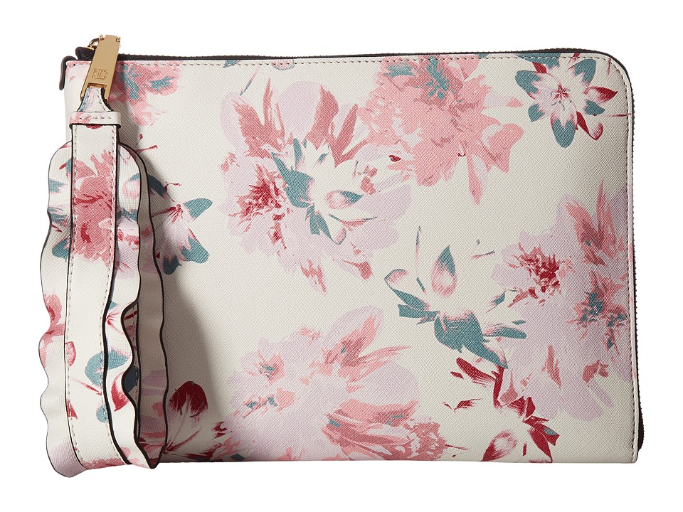 Ivanka Trump - Rio Tech Sleeve (Floral Faded Lillies) Clutch Handbags