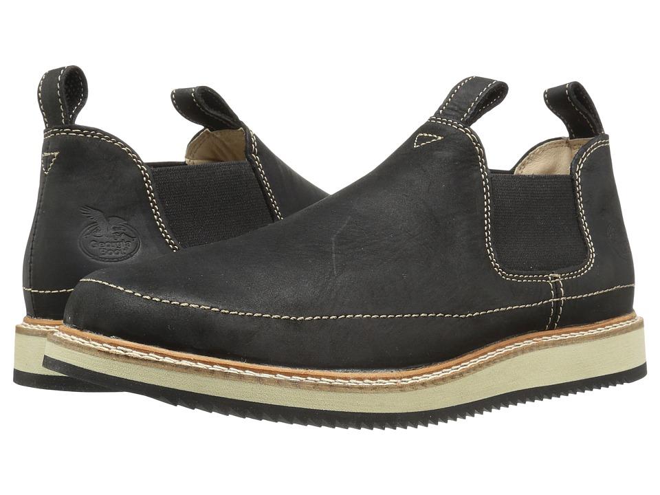 Georgia Boot - Small Batch Romeo (Black) Mens Work Boots