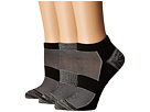 Columbia Marl and Space Dye Flat Knit Socks No Show 3-Pack