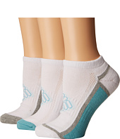 Columbia - Half Cushion Shadow Logo Socks No Show 3-Pack