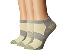 Columbia - Marl and Space Dye Flat Knit Socks No Show 3-Pack