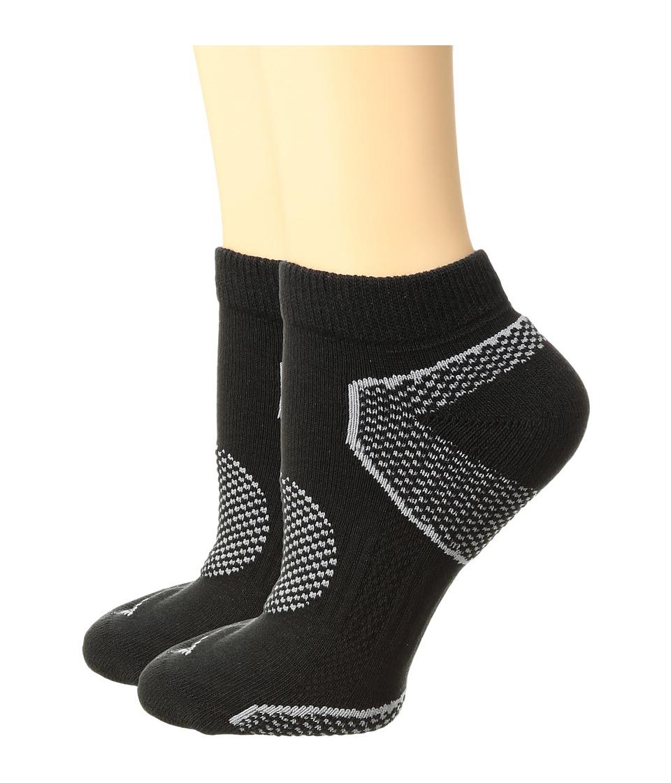 Columbia 2-Pack Low Cut Walking Socks (Black) Women's Low...