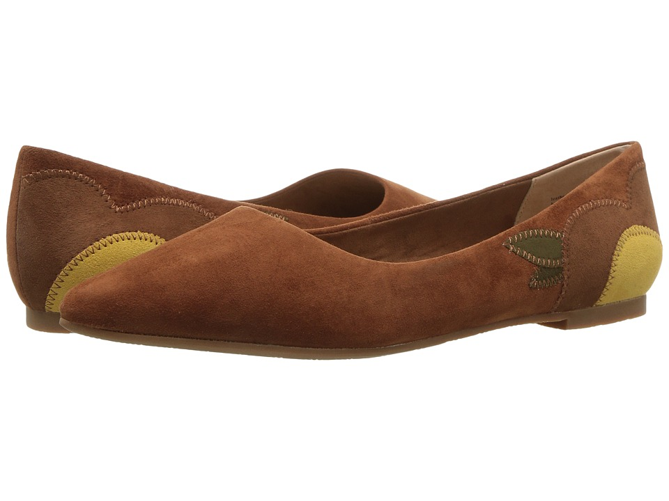 1950s Style Shoes Seychelles - Director Cognac Womens Flat Shoes $95.00 AT vintagedancer.com