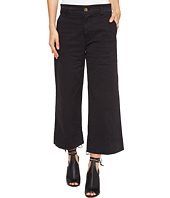 Lucky Brand - Wide Leg Crop in Lucky Black