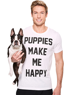 Puppies Make Me Happy - Title - Tee