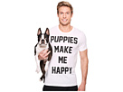 Puppies Make Me Happy Title - Tee