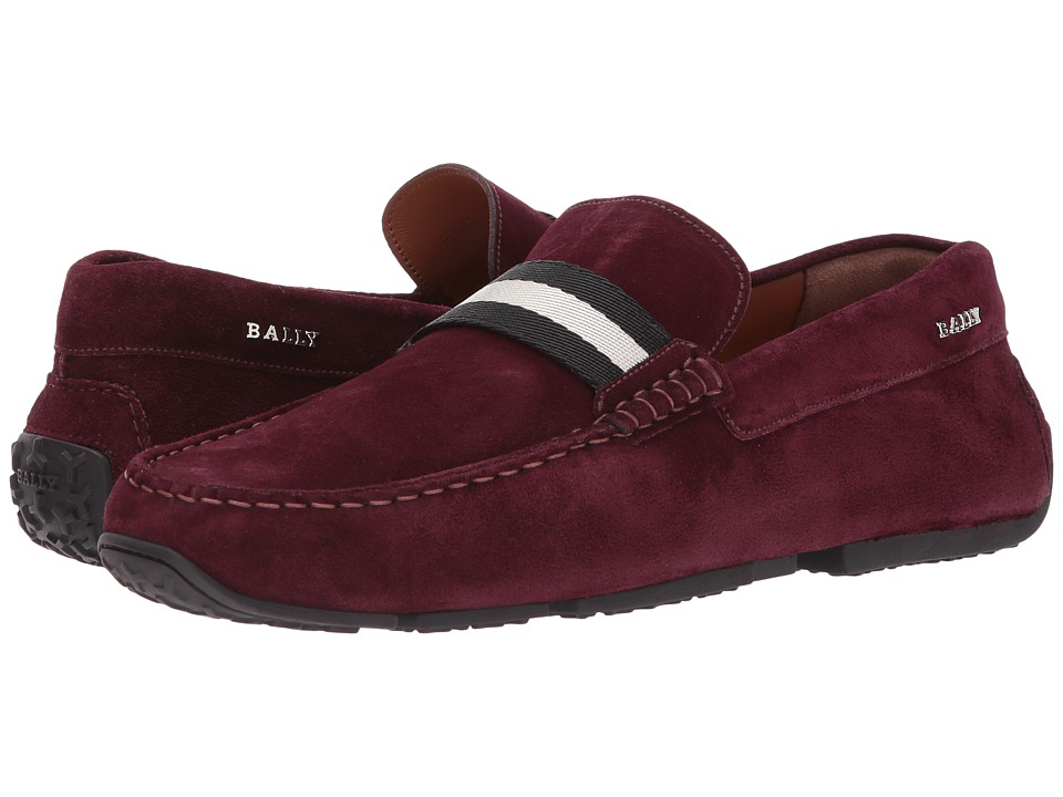 Bally - Pearce Driver (Merlot) Mens Shoes