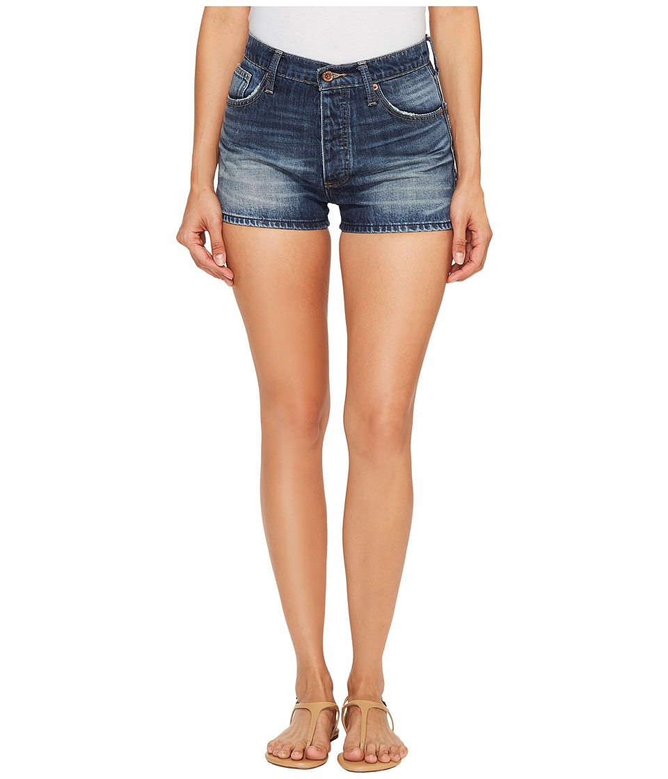 Lucky Brand - A Line Vintage Shorts in Beach City (Beach City) Womens Shorts
