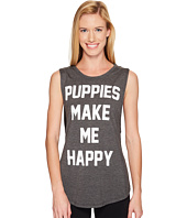 Puppies Make Me Happy - Title Tee - Sleeveless